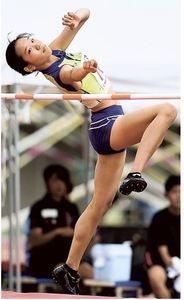 陸上女子走り高跳び、大滝(浜松西)が4位 高校総体