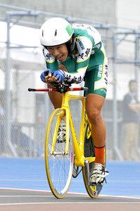 自転車3000個人追い抜き、松田大会新V 高校総体