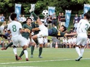 サッカー・男子静岡学園、初戦快勝 全国高校総体
