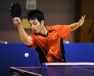 卓球男子、北陵2年連続16強 高校総体