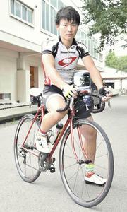 石井洋輝選手が日本代表選抜 世界ジュニア自転車・23日開幕