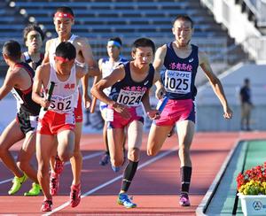 陸上男子、京都・洛南が3連覇 全国高校総体、史上初