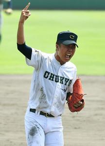 軟式野球 中京院中京の佐伯投手 努力重ねた無傷の怪物