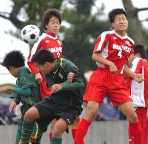 決勝T進出16校決まる 高校サッカー選手権静岡県大会
