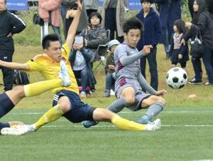 聖光学院が4強入り  福島県高校サッカー