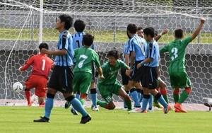 作陽、学芸館下し3年ぶり頂点 高校サッカー岡山県予選