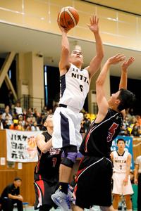 全国高校選手権県予選バスケ男子、新田35度目の優勝