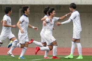 日本文理、初の全国選手権切符  全国高校サッカー選手権県大会決勝
