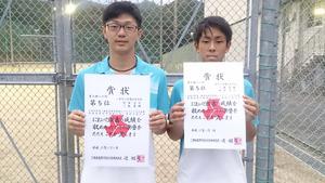 ソフトテニス 尾鷲高の三鬼・村田ペア、東海大会へ