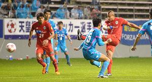 J1山形、3-4で敗れる 天皇杯サッカー4回戦