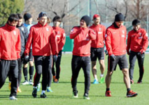 J1浦和、天皇杯サッカーへ軽めの調整 「いい準備を」