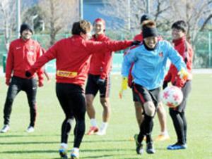 J1浦和、9大会ぶり元日Vへ 天皇杯決勝・G大阪戦