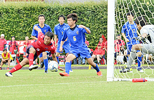 いわきFCが4回戦へ 天皇杯サッカー福島県大会