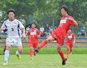 サッカー天皇杯の高知県予選決勝 高知大―高知ユナイテッド