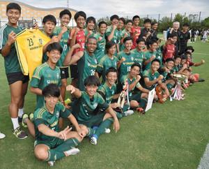 北陸大連覇、天皇杯へ 石川県サッカー選手権