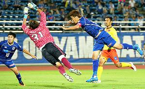 J2山形、辛うじて和歌山に2-1 天皇杯サッカー1回戦