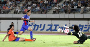 J2徳島、圧勝 サッカー天皇杯