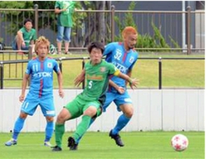 J3秋田が八戸に快勝、2回戦進出 サッカー天皇杯