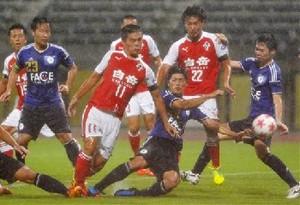 J2熊本辛勝、FC・TOSUに2-1 天皇杯サッカー