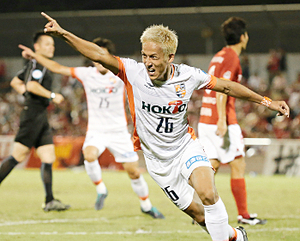 J3長野が名古屋破る、J2松本は敗退 天皇杯サッカー