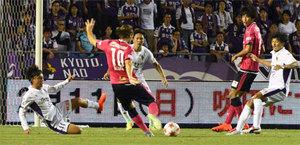 J2京都2回戦で涙、C大阪に逆転負け サッカー天皇杯