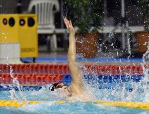 100背泳優勝、萩野公介貫禄2冠 いわて国体