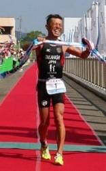 児島で国際トライアスロン大会 男子は高橋V5 女子は坂根初優勝