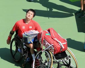 パラ 「車いすテニス界引っ張って」 敗退の国枝、斎田にエール