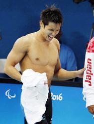 古里・滋賀が木村の力に 栗東出身、リオ・パラ競泳でメダル4