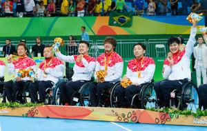 パラ 車いすラグビーの今井、官野らメダルに貢献