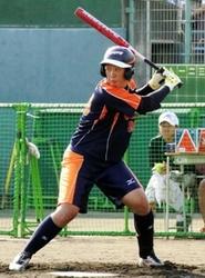 ソフトボール日本リーグ シオノギ上田のバット奮闘