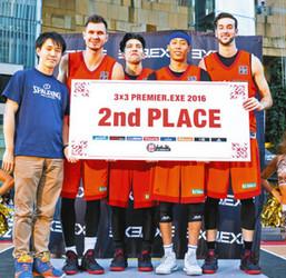 立川チーム2位に 3人制プロバスケ、参入1年目で好成績