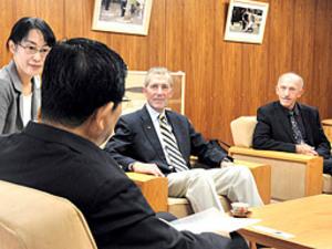 高地トレで「東京」合宿を 米五輪委に岐阜県知事が要請