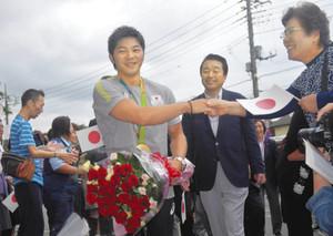 「東京五輪も金」リオ体操・山室選手 故郷・古河に凱旋