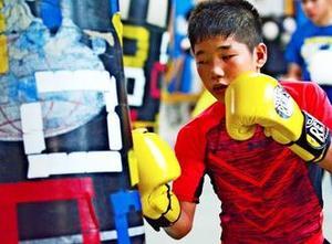 フィリピンでボクシング修業、夢は五輪 中学生・成上聖斗