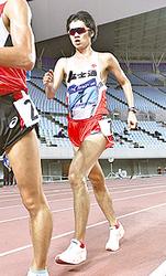 競歩1万メートル高橋が連覇 全日本実業団陸上