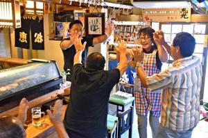 琴恵光関11勝 両親や後援会「九州場所でも活躍を」