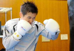 初めて故郷・京都の国体代表 ボクシング嶋田、故障克服し決意