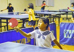 五輪効果か ラケット売り上げも「特需」に 高知県内で卓球熱
