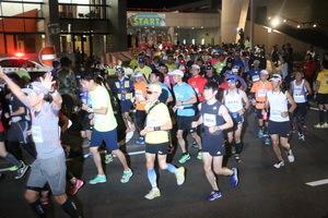 壱岐島内を555人が力走 壱岐ウルトラマラソン