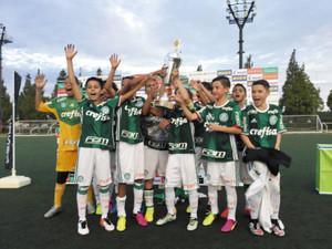 「COPA BELLMARE」 ブラジル少年チーム優勝
