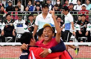 岩手国体 広島(ソフトテニス成年男子)準優勝