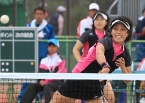 岩手国体 ソフトテニス成年女子 兵庫返り咲き