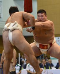 岩手国体 三重、相撲成年男子団体で準優勝