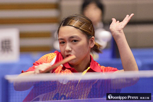 岩手国体 卓球成年女子 青森県が準優勝