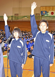 「福島県中学校駅伝」6日号砲 西郷で開始式、男女各36校出場