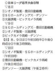 8日から一関で熱戦 女子ソフトボール日本リーグ