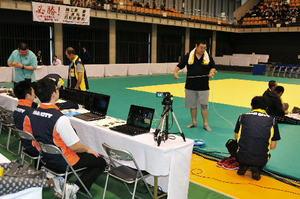 台風被害乗り越え国体開催へ 久慈市