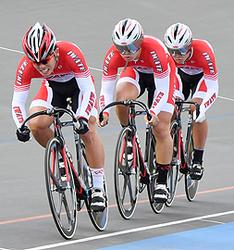 自転車スプリント、岩手男子が準V 国体本大会第6日