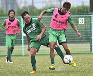 球際の激しさ意識 J2岐阜、8日アウェーC大阪戦